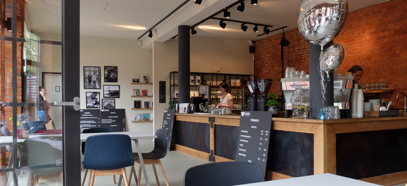 Public Coffee Roasters in Winterhude