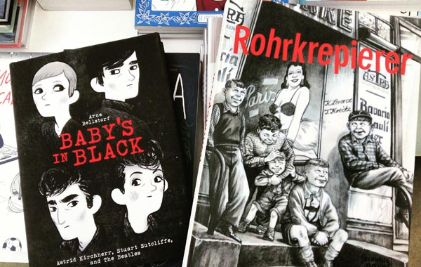 Graphic Novels aus Hamburg