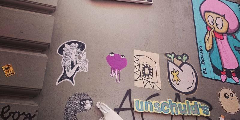Streetart im Schanzenviertel